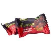 Финики в шоколаде с миндалём