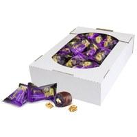 Чернослив в шоколаде с грецким орехом, лоток 1500 г
