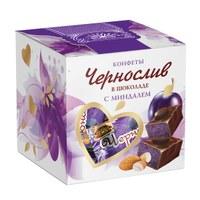 Чернослив в шоколаде с миндалем, 205 г